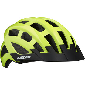 Lazer Compact Cykelhjälm flash yellow